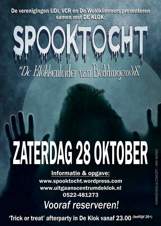 Poster Spooktocht